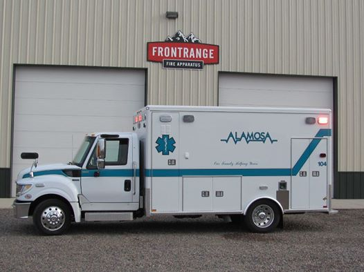 Ambulance Front Range Fire Apparatus